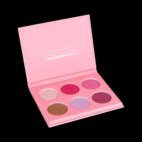 Paleta de Sombras Ás Quartas Usamos Rosa - Vizzela
