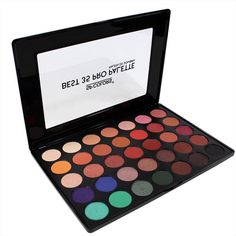 Paleta de Sombras 35 Cores Versão 1 - SP Colors