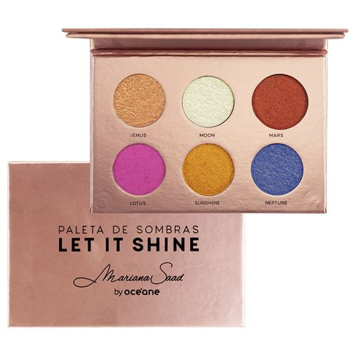 Paleta de Sombras Let It Shine - Mariana Saad