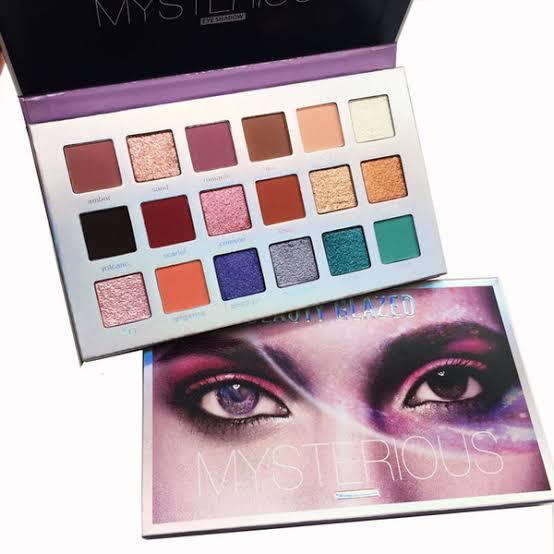 Paleta de Sombras Mysterious - Beauty Glazed
