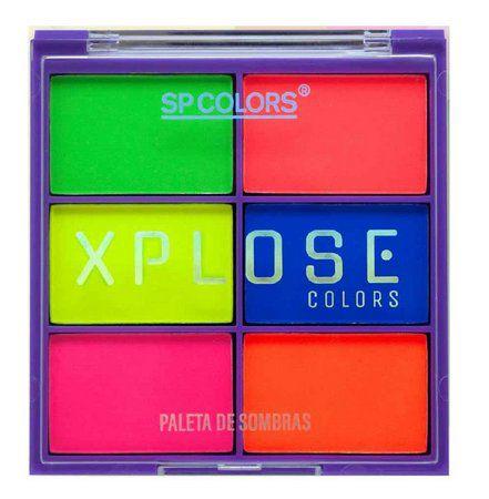 Paleta Neon Xplose Colors - SP Colors