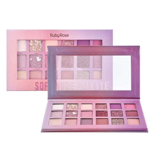 Paleta Soft Nude - Ruby Rose