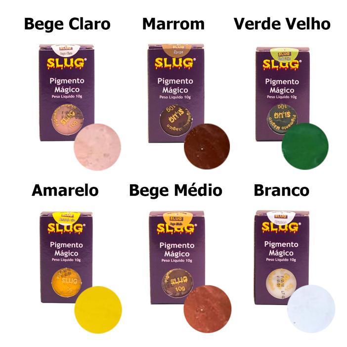 Pigmento Mágico para Maquiagem Artística 10g - Slug
