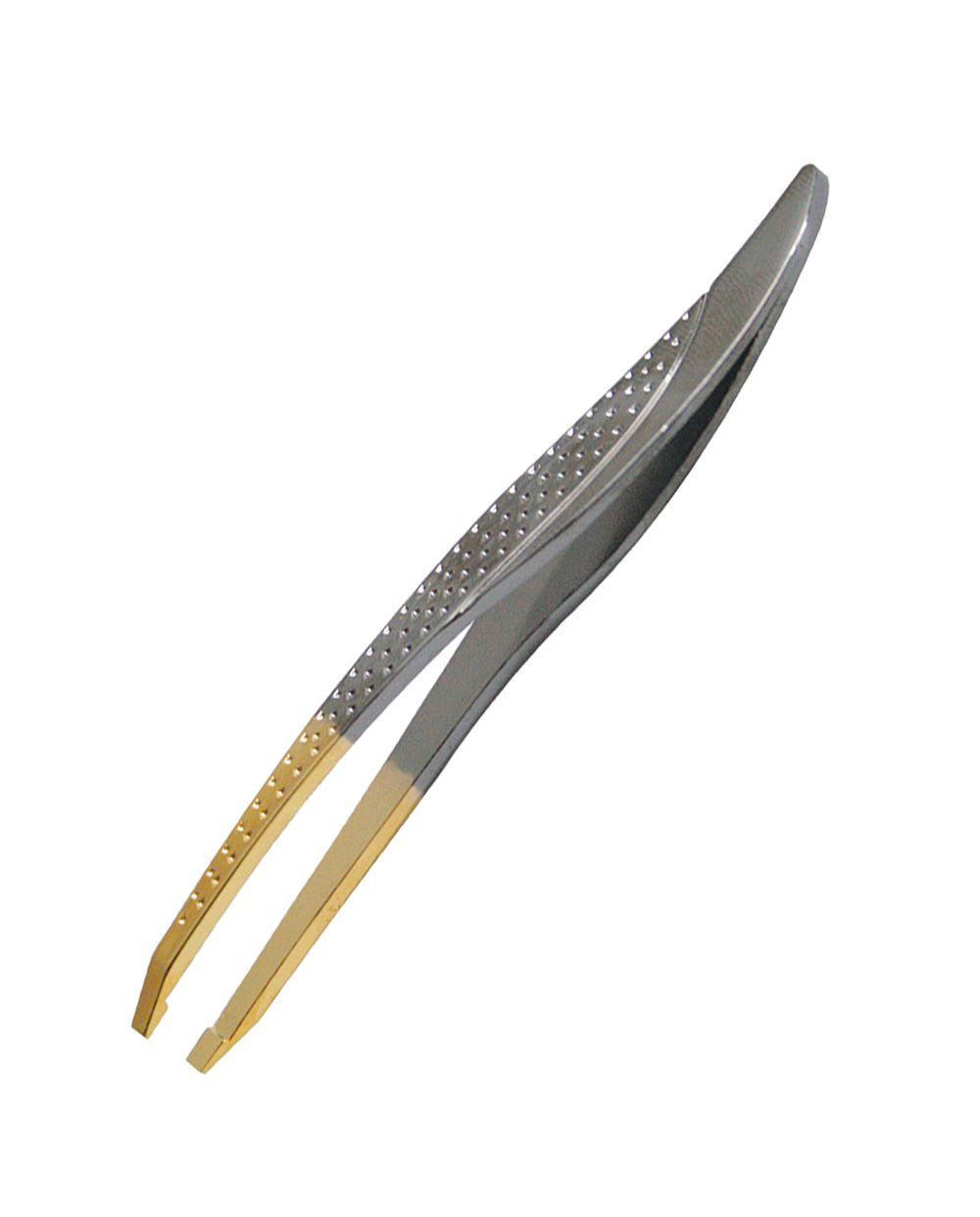 Pinça Gold Titanium Reta - Soling