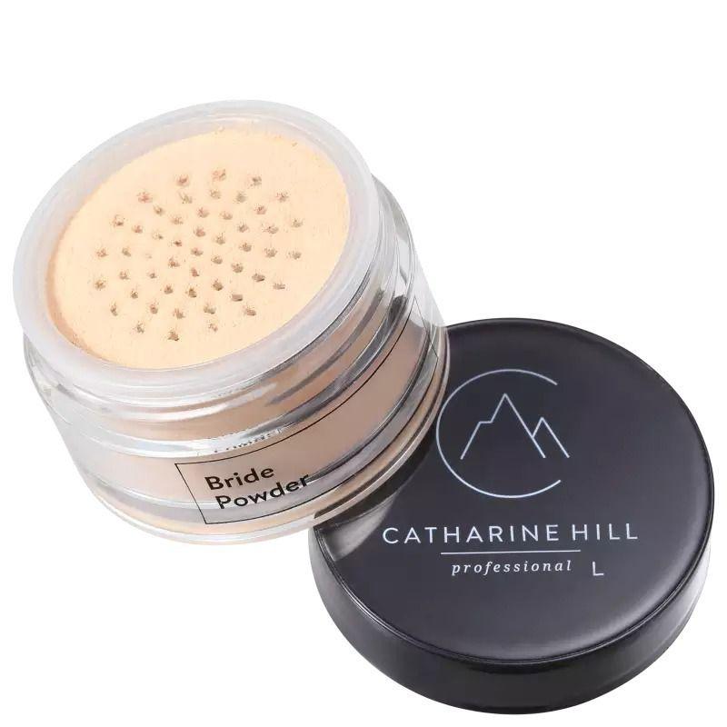 Pó Facial Iluminador Bege Cintilante Pó de Noiva - Catharine Hill
