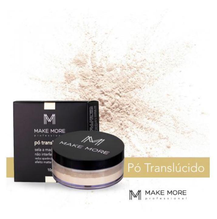 Pó Translúcido Natural 1 - Make More