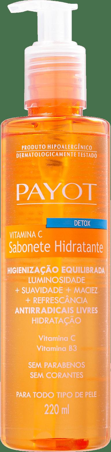 Sabonete Liquido Detox Vitamina C - Payot