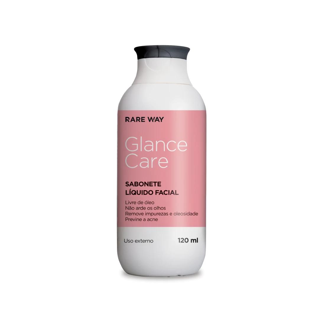 Sabonete Liquido Facial Glance Care 120 ml - Rare Way