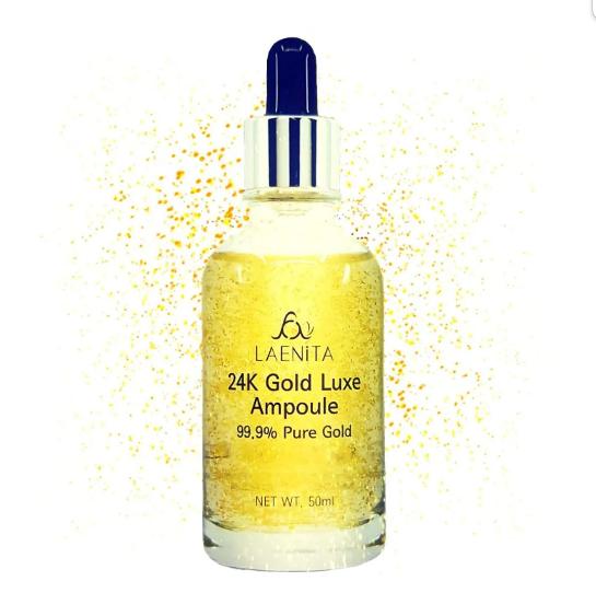 Sérum Facial 24k Gold Luxe Ampoule - Laenita