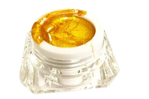Spider Gel Dourado para Decoração das Unhas - Maishani