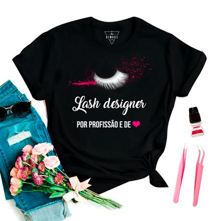 T-Shirt Profissão Lash Designer