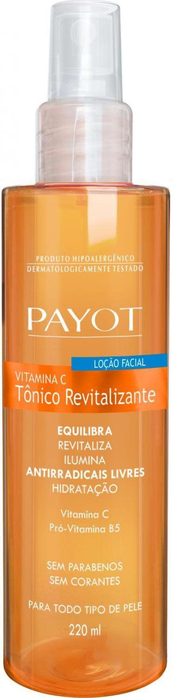 Tonico Revitalizante Facial Vitamina C 220ml - Payot