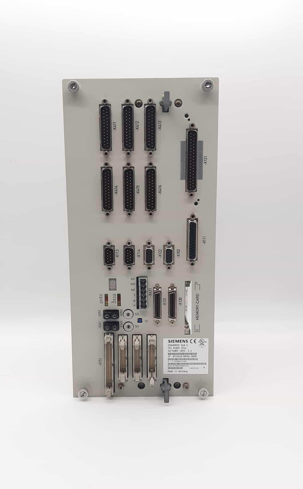 6FC5410-0AY01-0AA0 CC1 V2.4 | CPU SINUMERIK | SIEMENS