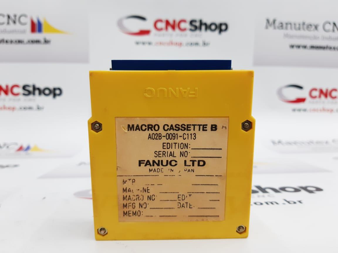 A02B-0091-C113 |MODULO CASSETE |FANUC
