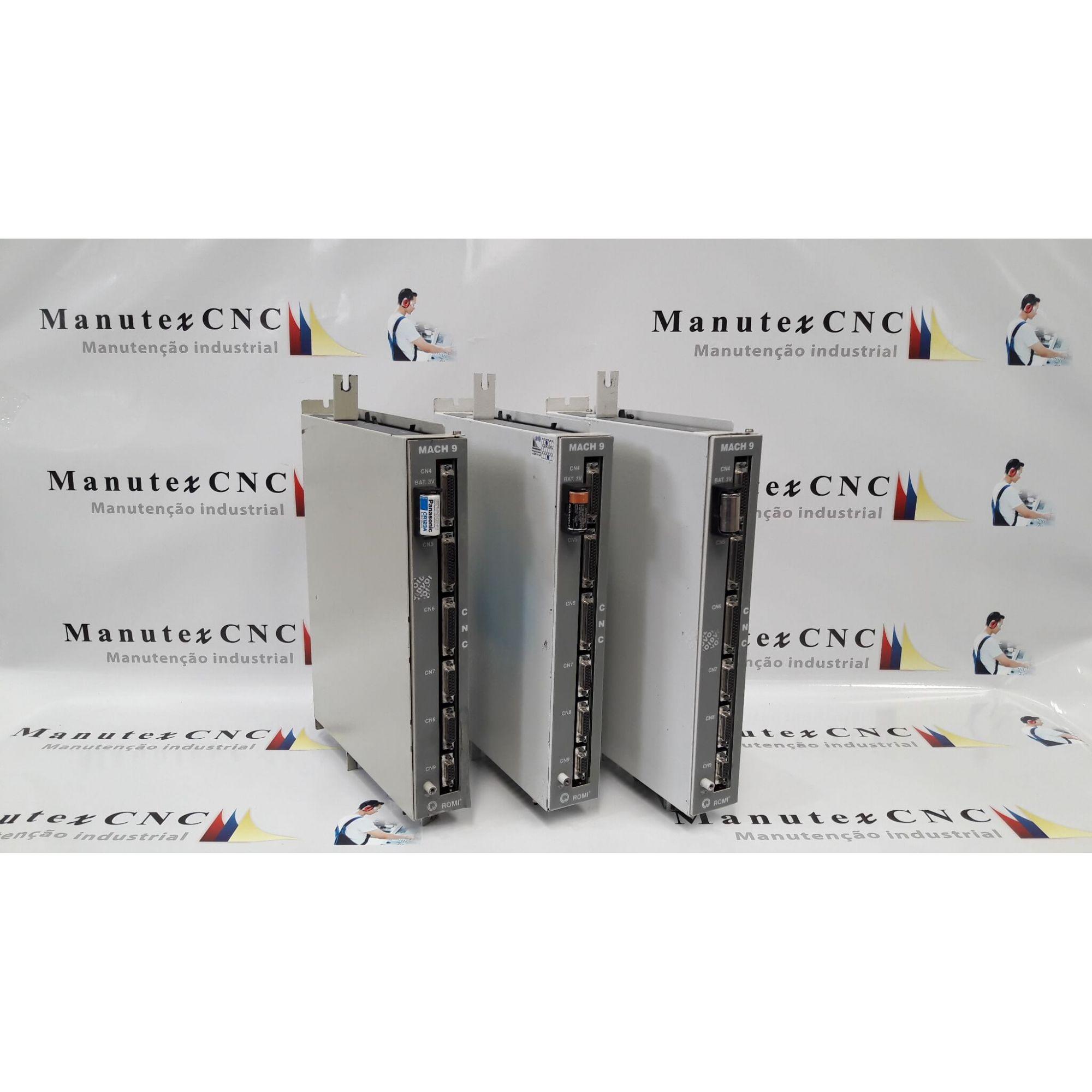 MACH9|COMANDO CNC|ROMI