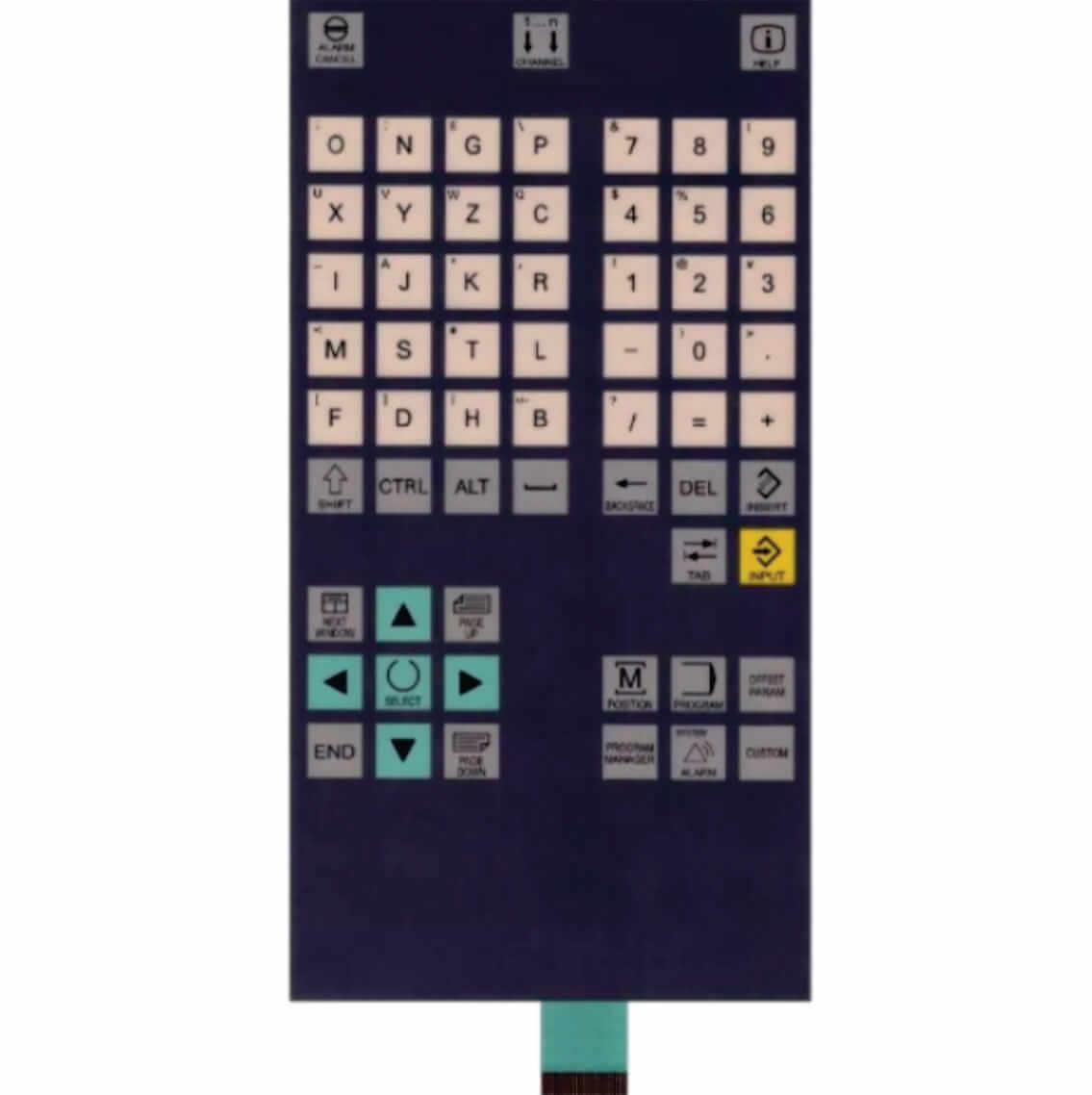 MEMBRANA VERTICAL | CNC SINUMERIK 802D | SIEMENS