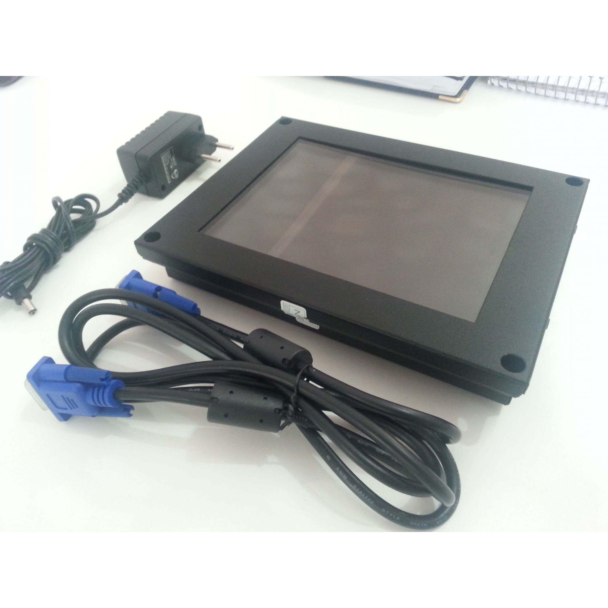 MONITOR LCD | CNC MACH8 | ROMI