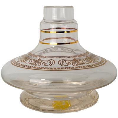 BASE SHISHA GLASS ALADIM S/ BOLHA GREGA