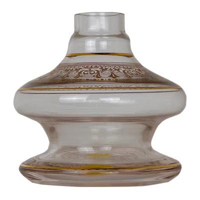 BASE SHISHA GLASS NIX COLOR GREGA