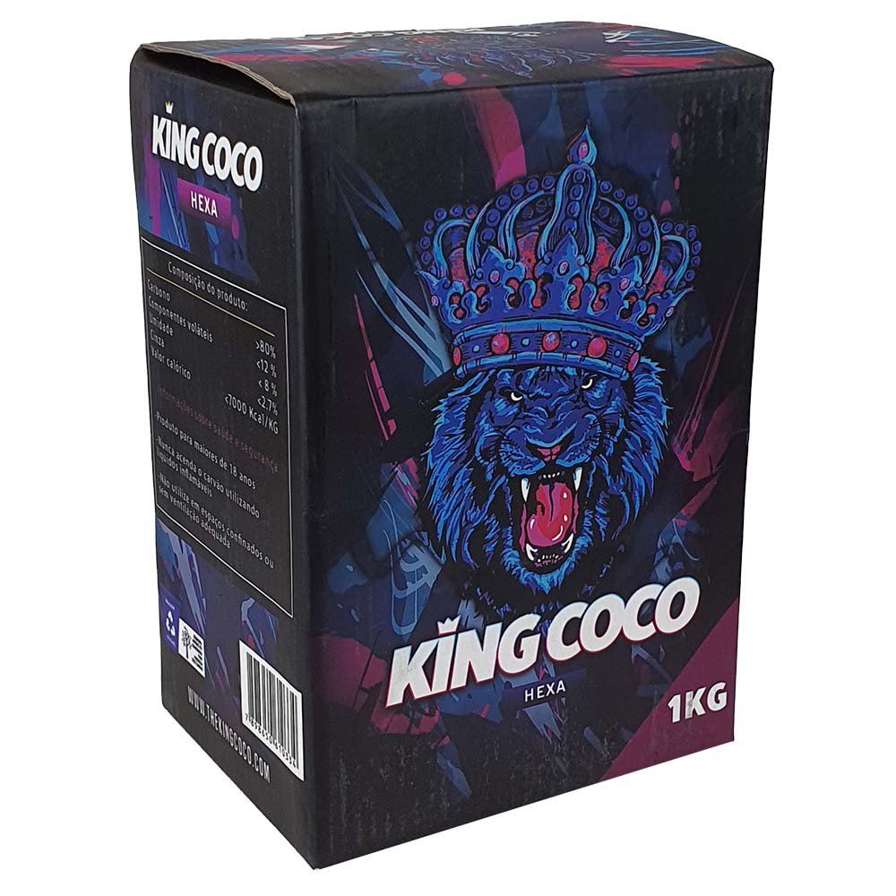 CARVAO KING COCO HEXAGONAL 1KG