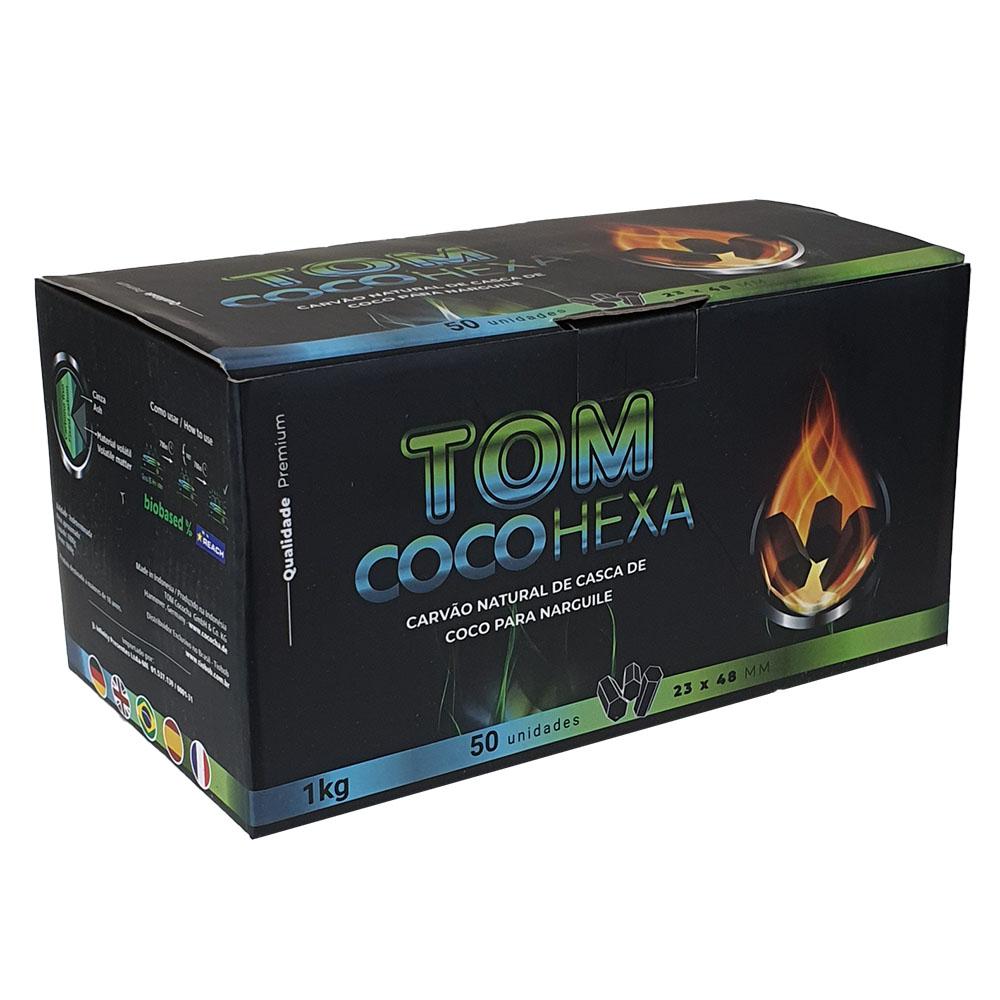 CARVAO TOM COCO HEXAGONAL 1kg