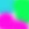 neon azul+verde+rosa