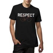 Camiseta Amazônia Bike Respect - Preto