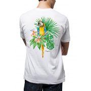 Camiseta Amazônia Bio Arara - Branco