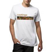Camiseta Amazônia Biomas Caatinga - Branco