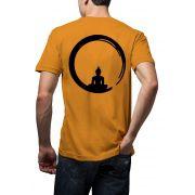 Camiseta Amazônia Energia Buda - Amarelo
