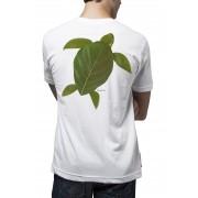 Camiseta Amazônia Folha Tartaruga - Branco