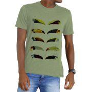 Camiseta Amazônia Garrafa Pet Bicos de Tucano - Verde