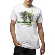 Camiseta Amazônia Graphic Collage - Branco