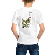 Camiseta Amazônia Infantil Lindo Tucano - Branco