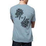 Camiseta Amazônia Linhotex Corais da Amazônia - Azul