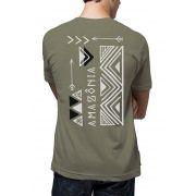 Camiseta Amazônia Linhotex Tucum - Verde Escuro