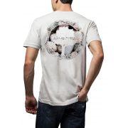 Camiseta Amazônia Logo Pedras - Branco