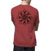 Camiseta Amazônia Mandala Flor - Vinho