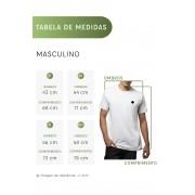 Camiseta Amazônia Micro Folhas - Mescla Escuro