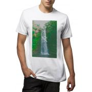 Camiseta Amazônia Offline - Branco