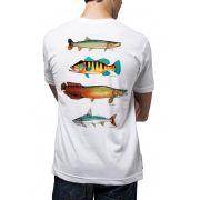 Camiseta Amazônia Peixes da Amazônia - Branco
