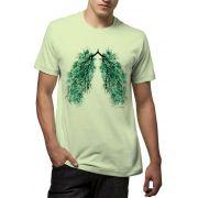 Camiseta Amazônia Pulmão Amazônia - Verde Claro