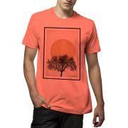 Camiseta Amazônia Sol no Sertão - Salmão