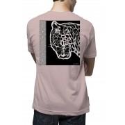 Camiseta Amazônia SOS Natureza - Rosa Claro