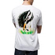 Camiseta Amazônia Tamanduá Bandeira - Branco