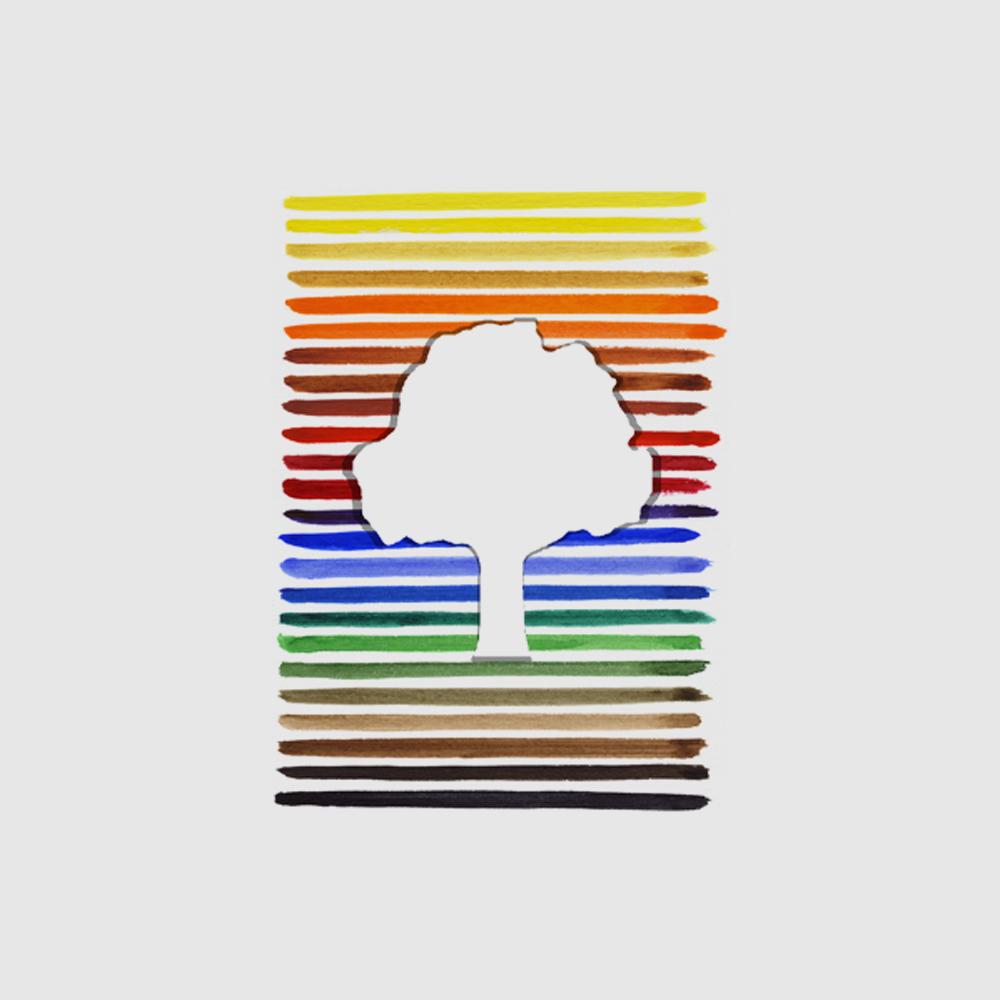 Baby Look Amazônia Pantone Logo - Bege