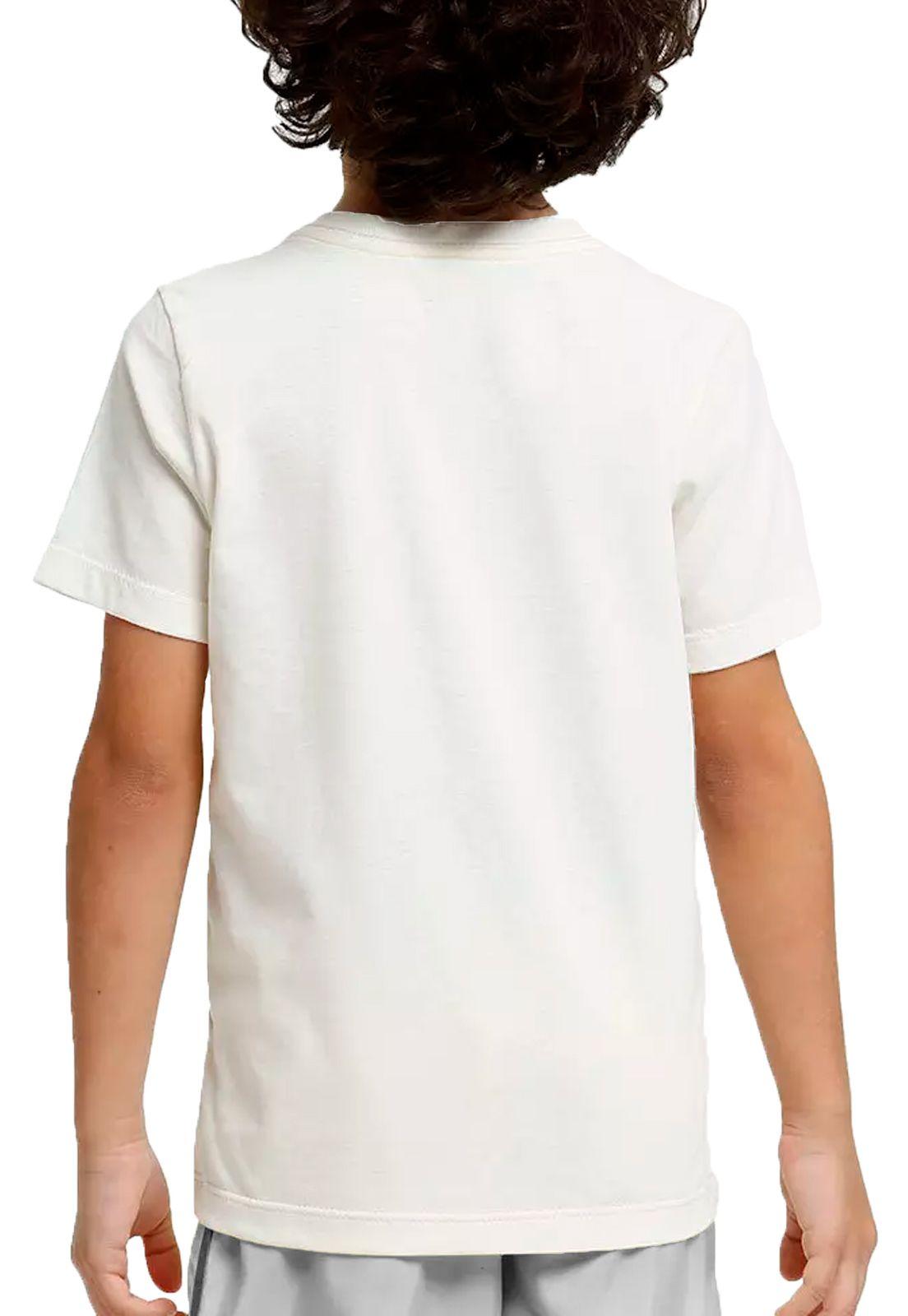 Camiseta Amazônia Adolescente Básica - Branco