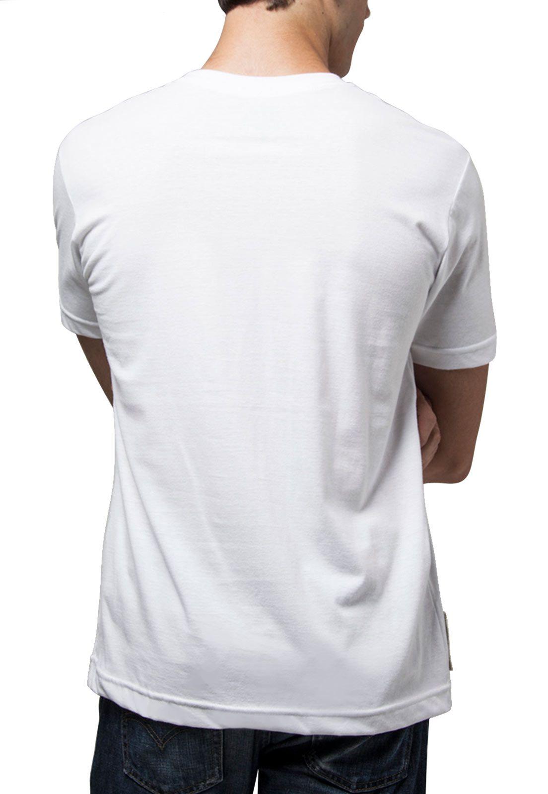 Camiseta Amazônia Ama zo ni a - Branco