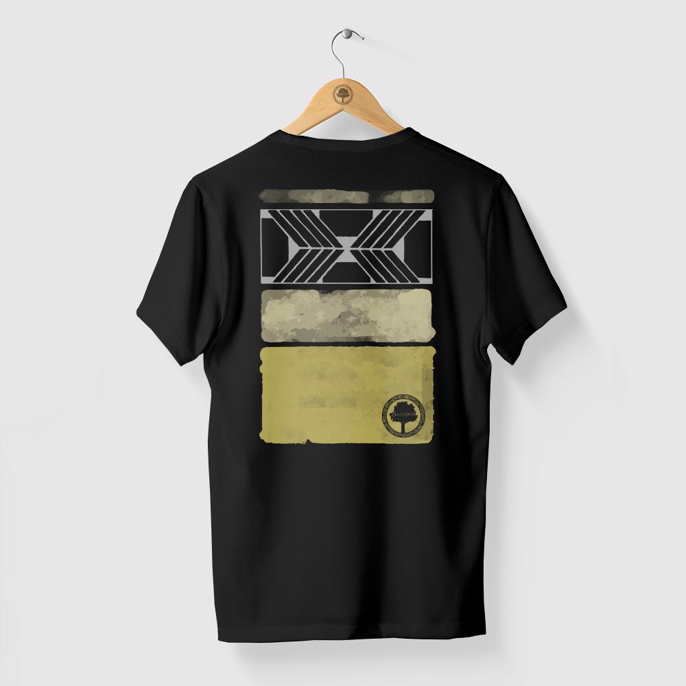 Camiseta Amazônia ARTE GRAFISMO - PRETO
