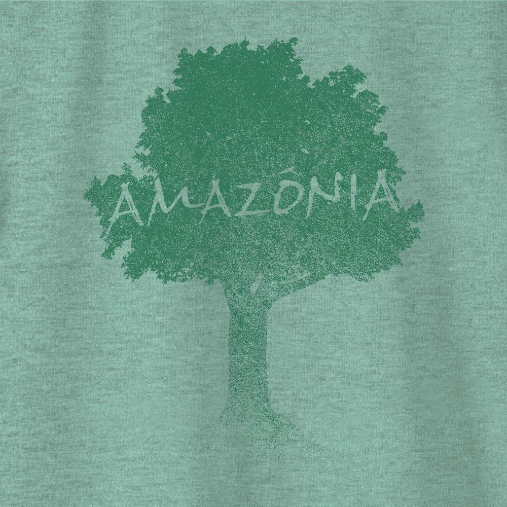 Camiseta Amazônia ÁRVORE TERRA - VERDE
